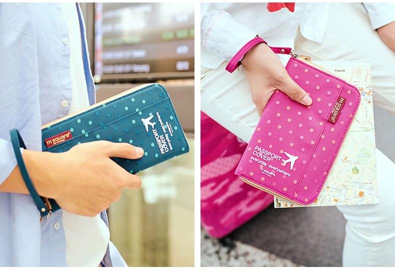 ví đựng passport nữ