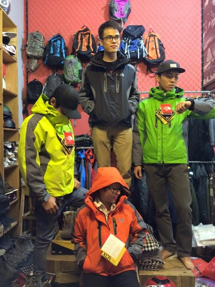 áo the north face vnxk
