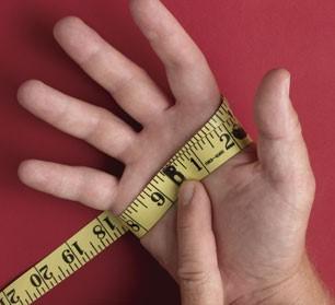 đo size bàn tay