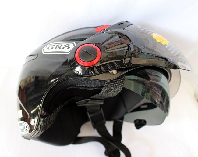 Mũ bảo hiểm 2 kính GRS a966k chính hãng cho nam nữ