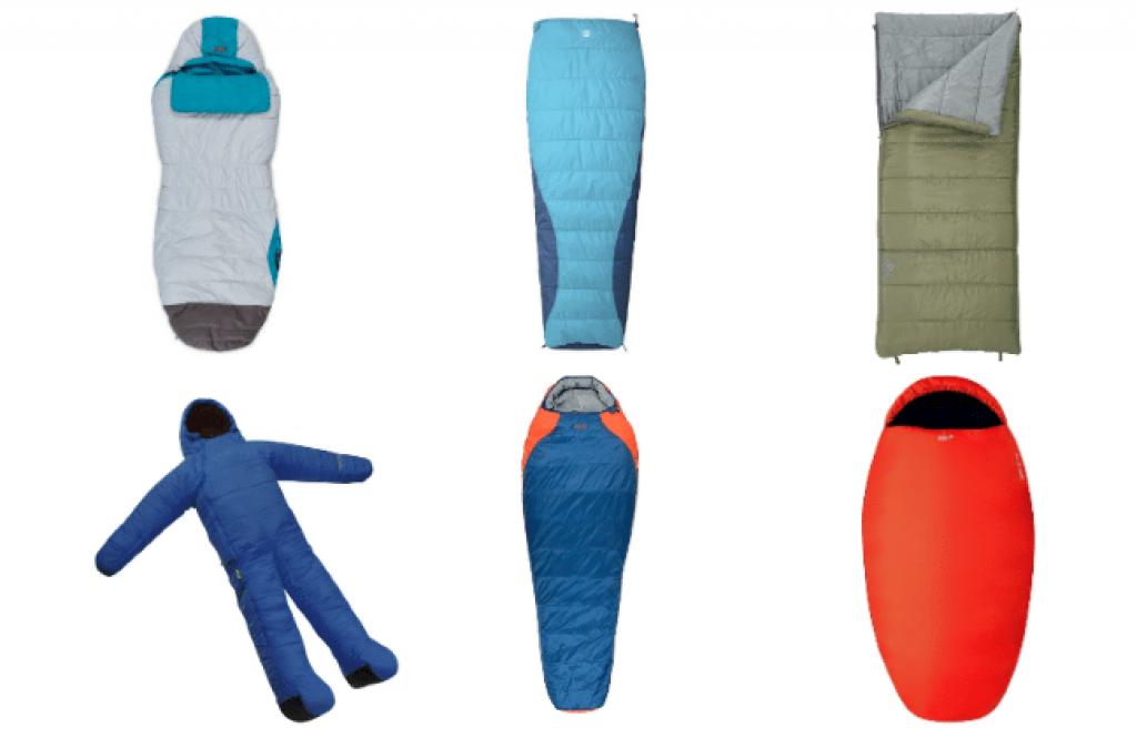 các loại hình dáng túi ngủ