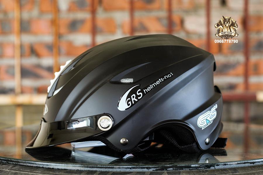 Mũ bảo hiểm GRS chính hãng nửa đầu được bán tại Hà Nội, HCM