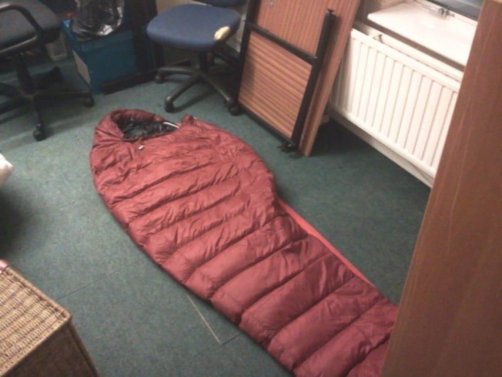 Túi ngủ văn phòng người lớn