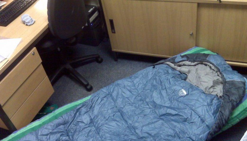 túi ngủ văn phòng