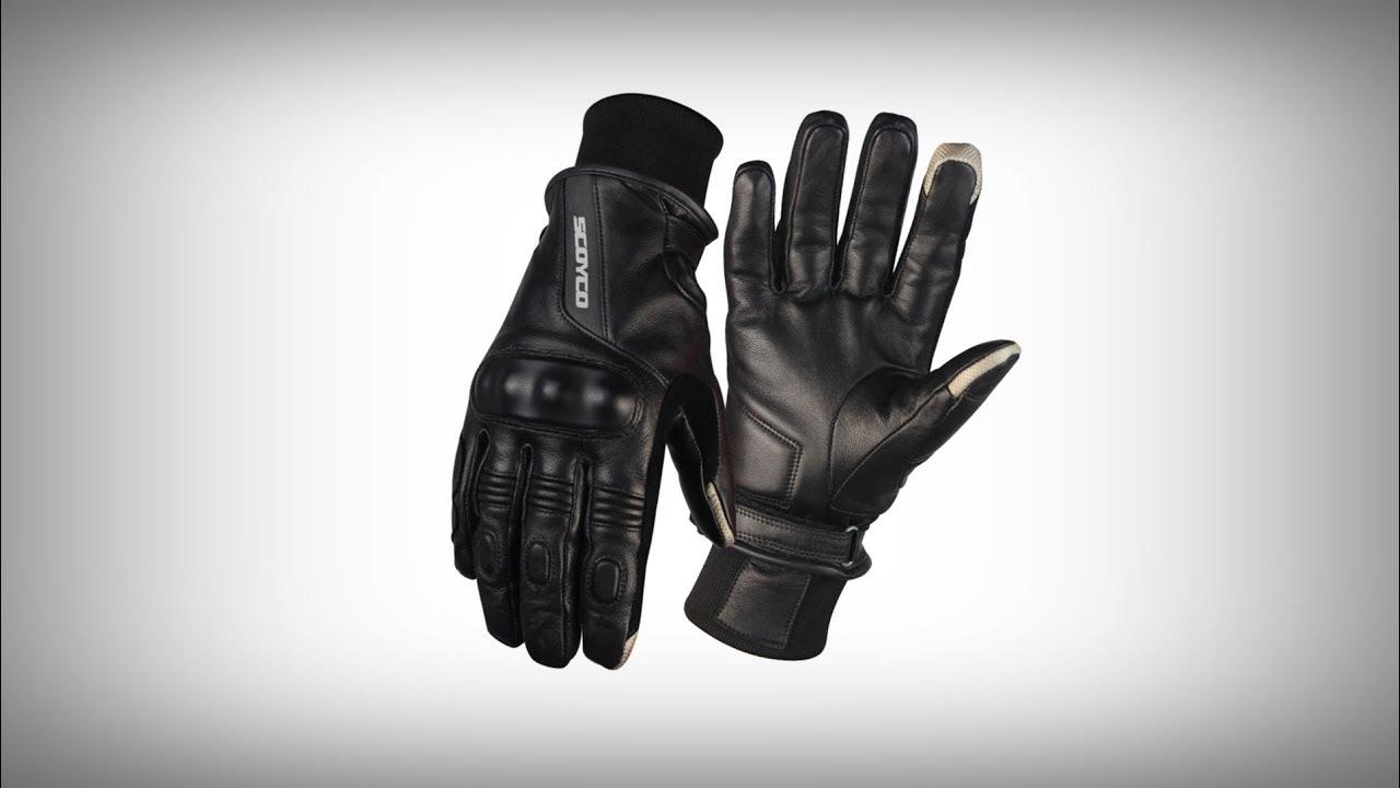 Găng tay xe máy mùa đông kháng nước Scoyco MC31