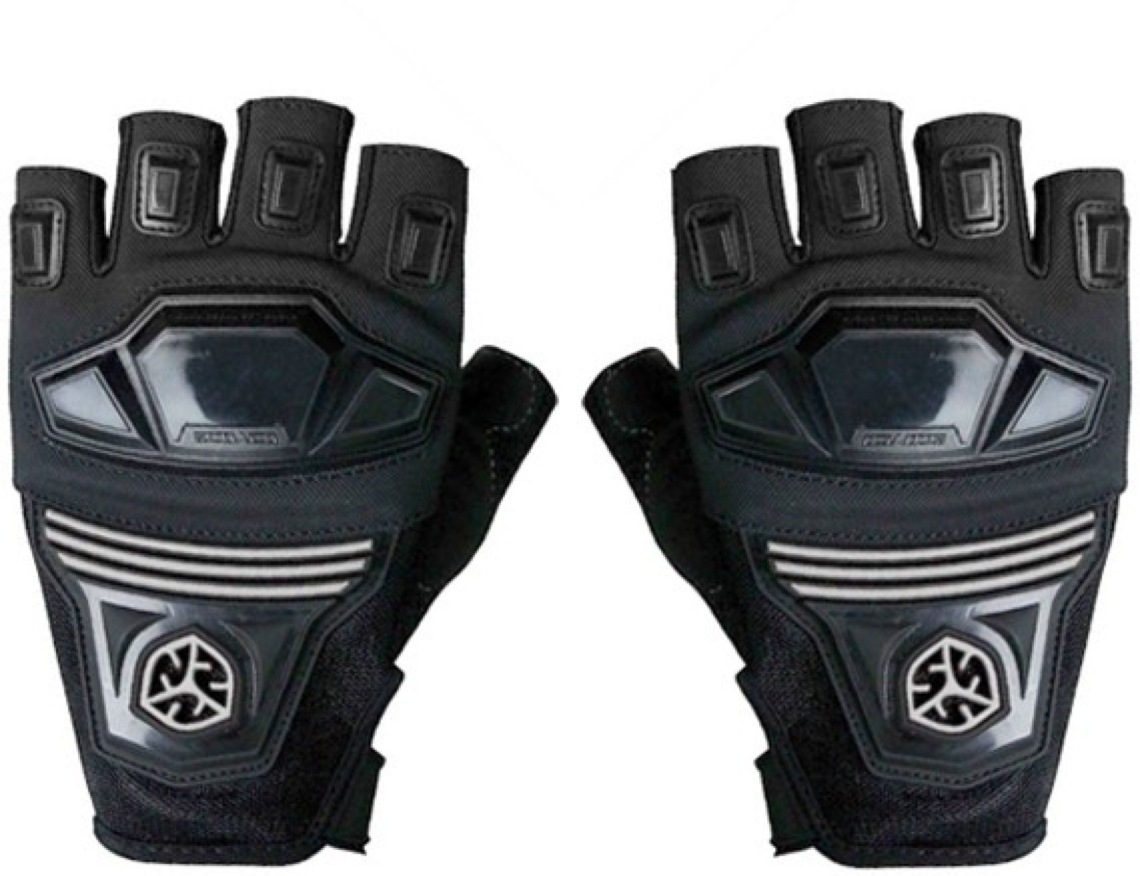 Găng tay hở ngón đi xe máy Scoyco MC24D