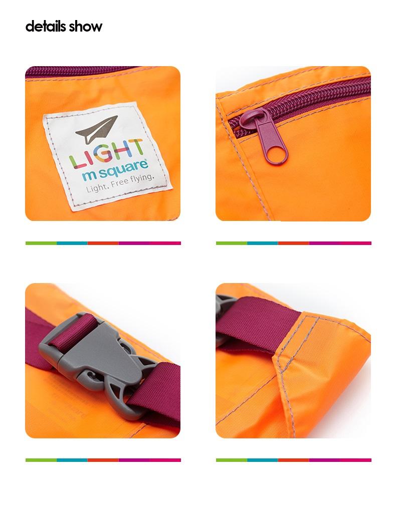 Túi đeo hông chạy bộ Msquare Light