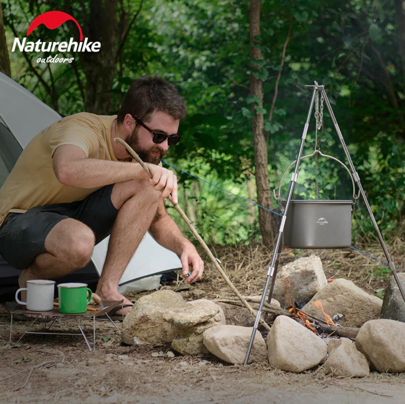 Bộ nồi du lịch đa năng Naturehike NH17D021-G