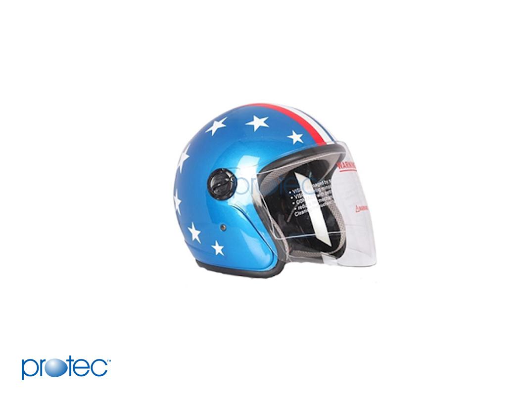 Protec- mũ bảo hiểm phượt giá hợp lý