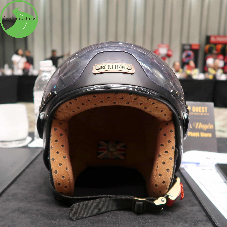 Bulldog- nón bảo hiểm đi phượt đến từ Anh