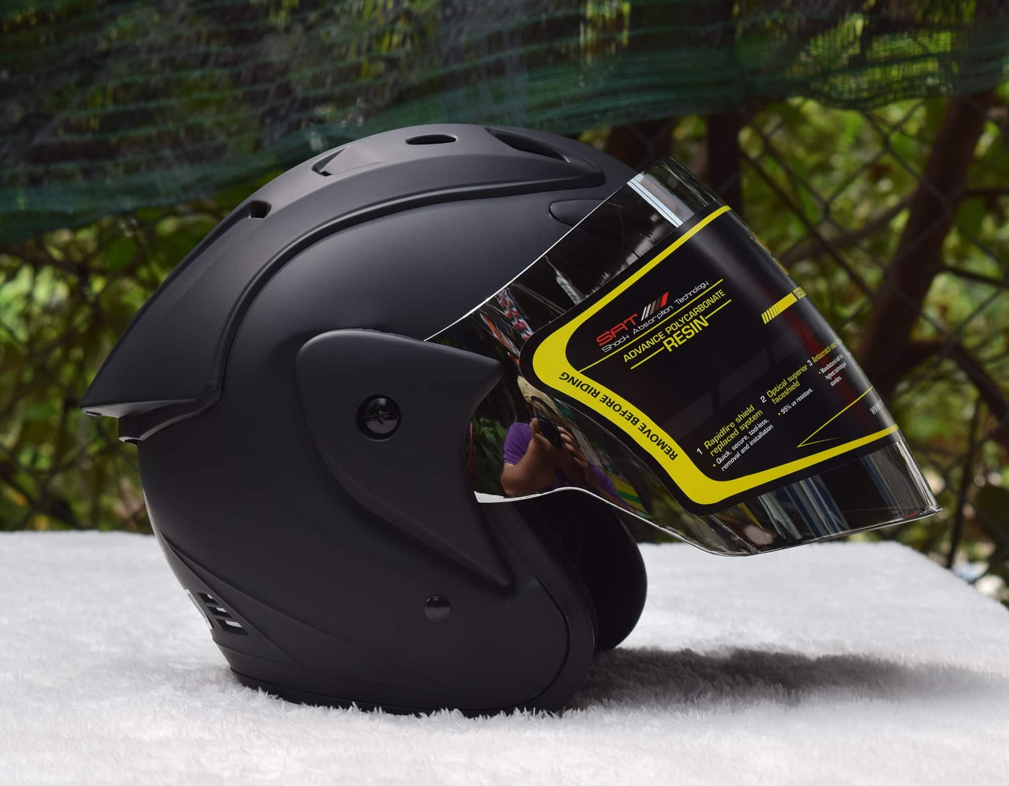 Asia Helmet- mũ bảo hiểm moto cao cấp
