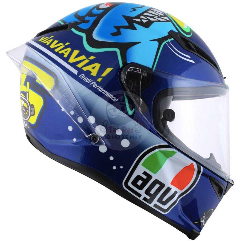 AGV- thương hiệu nón bảo hiểm phượt đến từ Ý