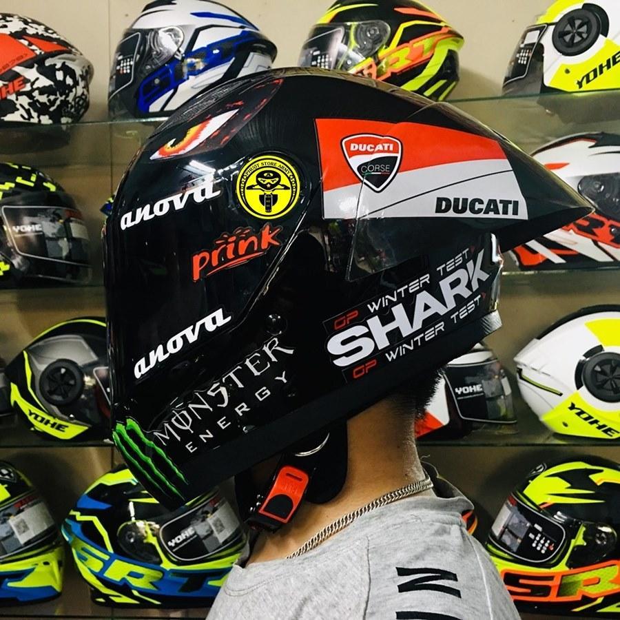 Shark Helmet- mũ bảo hiểm cho dân phượt