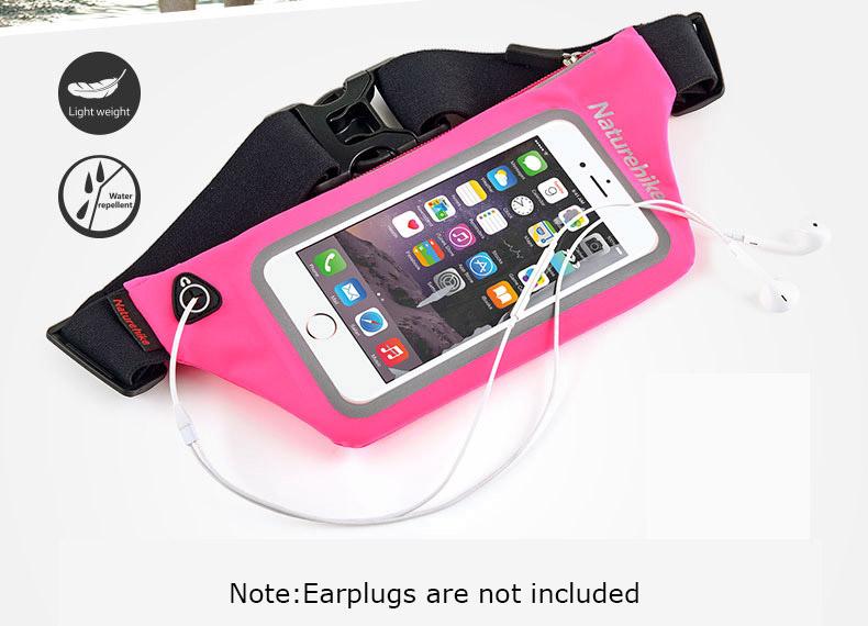 Túi đeo chạy bộ đựng điện thoại Naturehike NH70B067-Y